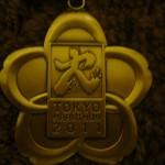 2011東京マラソンメダル